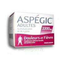 Aspegic Adultes 1000 Mg, Poudre Pour Solution Buvable En Sachet-dose 20 à Blere