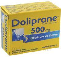 Doliprane 500 Mg Poudre Pour Solution Buvable En Sachet-dose B/12 à Blere