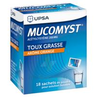 Mucomyst 200 Mg Poudre Pour Solution Buvable En Sachet B/18 à Blere