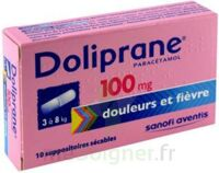 Doliprane 100 Mg Suppositoires Sécables 2plq/5 (10) à Blere