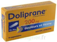 Doliprane 200 Mg Suppositoires 2plq/5 (10) à Blere