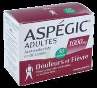 Aspegic Adultes 1000 Mg, Poudre Pour Solution Buvable En Sachet-dose 30 à Blere