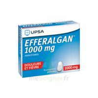 Efferalgan 1000 Mg Comprimés Pelliculés Plq/8 à Blere