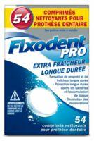 Fixodent Pro Comprimés Nettoyant Fraîcheur Longue Durée Pour Prothèse Dentaire B/54 à Blere