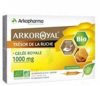 Arkoroyal Gelée Royale Bio 1000 Mg Solution Buvable 20 Ampoules/10ml à Blere