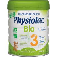 Physiolac Bio Lait 3éme Age 800g à Blere
