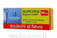 Ibuprofene Biogaran Conseil 400 Mg, Comprimé Pelliculé à Blere