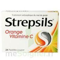 Strepsils Orange Vitamine C, Pastille à Blere