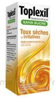 Toplexil 0,33 Mg/ml Sans Sucre Solution Buvable 150ml à Blere
