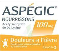 Aspegic Nourrissons 100 Mg, Poudre Pour Solution Buvable En Sachet-dose à Blere