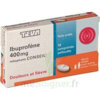 Ibuprofene Teva Conseil 400 Mg, Comprimé Pelliculé à Blere