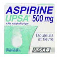 Aspirine Upsa 500 Mg, Comprimé Effervescent à Blere