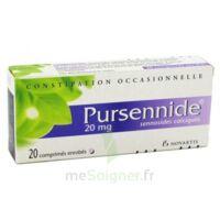 Pursennide 20 Mg, Comprimé Enrobé à Blere