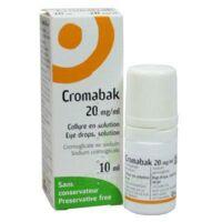 Cromabak 20 Mg/ml, Collyre En Solution à Blere