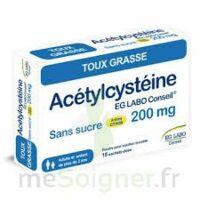 Acetylcysteine Eg Labo Conseil 200 Mg Sans Sucre, Poudre Pour Solution Buvable En Sachet-dose à Blere