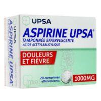 Aspirine Upsa Tamponnee Effervescente 1000 Mg, Comprimé Effervescent à Blere