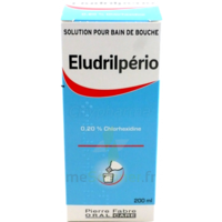 Eludrilperio 0,2 %, Solution Pour Bain De Bouche à Blere