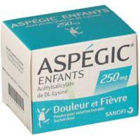 Aspegic Enfants 250, Poudre Pour Solution Buvable En Sachet-dose à Blere