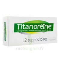 Titanoreine Suppositoires B/12 à Blere