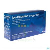 Betadine 10 %, Solution Vaginale En Récipient Unidose à Blere