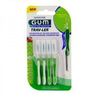 Gum Trav - Ler, 1,1 Mm, Manche Vert , Blister 4 à Blere