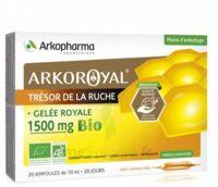 Arkoroyal Gelée Royale Bio 1500 Mg Solution Buvable 20 Ampoules/10ml à Blere