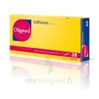 Oligosol Lithium Solution Buvable En Ampoule Ou En Récipient Unidose 28amp/2ml à Blere