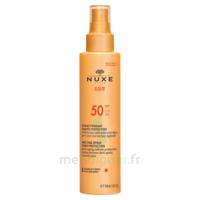 Spray Solaire Visage Et Corps Haute Protection Spf 50 Nuxe Sun150ml à Blere