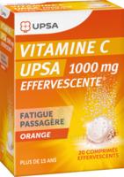 Vitamine C Upsa Effervescente 1000 Mg, Comprimé Effervescent à Blere